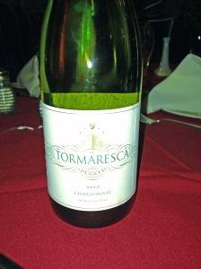 Tormaresca Puglia Chardonnay 2012
