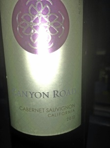 Canyon Road Cabernet Sauvignon 2012