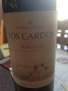 Dona Paula Los Cardos Malbec 2012