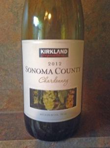 Kirkland Sonoma County Chardonnay 2012