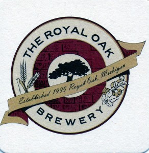 MI The Royal Oak Brewery Coaster
