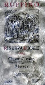 Ruffino Riserva Ducale Oro Chianti Classico 1988