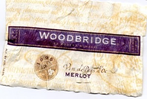Woodbridge Merlot Vin de Pays d'Oc 1996