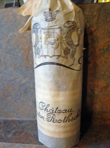 Ch Mouton Rothschild Pauillac 1973 in wrapper