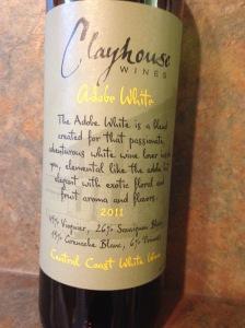 Clayhouse Wines Adobe White 2011