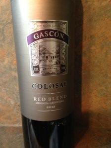 Gascon Colosal 2012
