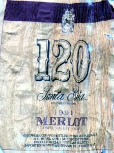 Santa Rita 120 Merlot 1991