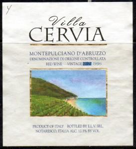 Villa Cervia Montepulciano 1996