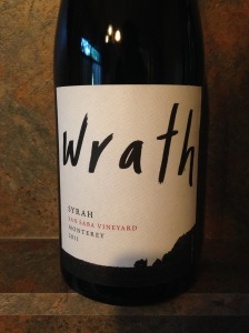 Wrath San Saba Vineyard Syrah 2011