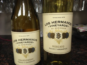Los Hermanos Chardonnay and Moscato
