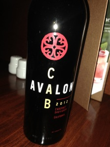 Avalon Cabernet Sauvignon 2012