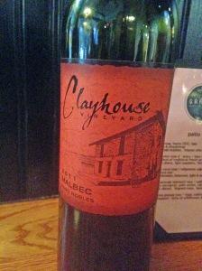 Clayhouse Malbec 2011