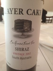 Layer Cake Shiraz 2012