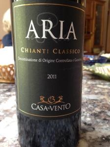 Casa Al Vento Aria Chianti Classico 2011