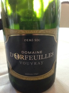 Domaine D'Orfeuilles Vouvray Demi Sec NV