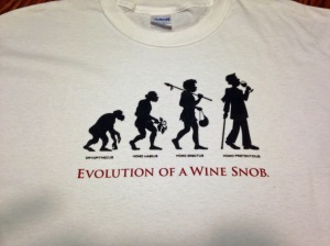 Evolution of a Wine Snob