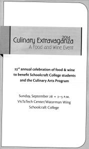 MI 23rd Culinary Extravaganza Booklet