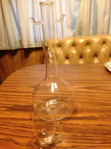 Port Decanter and glass