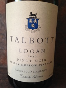 Talbott Logan Pinot Noir 2010