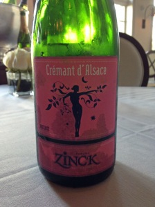 Zinck Cremant d'Alsace Brut Rose NV