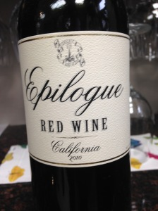 Epilogue Red Wine 2010