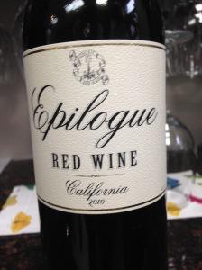 Epilogue Red Wine 2010