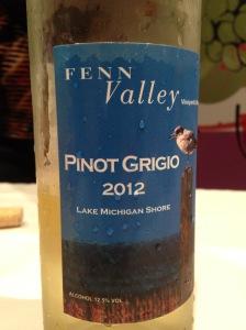 Fenn Valley Pinot Grigio 2012
