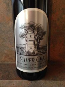 Silver Oak Cabernet Sauvignon 2010