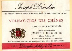Volnay Clos Des Chenes