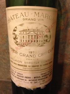 Chateau Margaux 1970