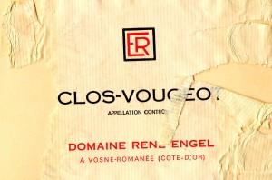 Clos Vougeot Domaine Rene Engel