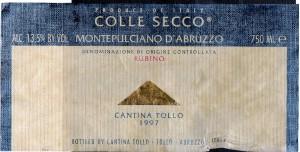 Colle Secco MDA 1997