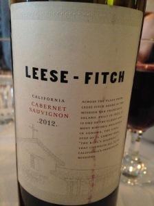 Leese Fitch Cabernet Sauvignon 2012
