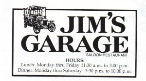 MI Jims Garage Logo