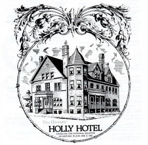 MI The Holly Hotel Logo