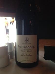 Boisset Bourgogne Pinot Noir Les Ursalines 2012