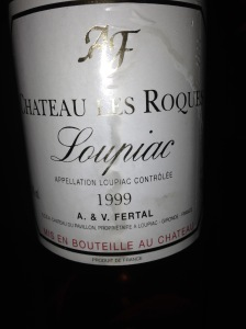 Chateau Les Roques Loupiac 1999
