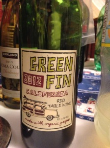 Green Fin Red Table Wine 2012