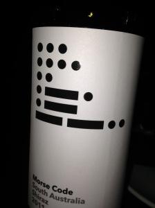 Morse Code Shiraz 2011
