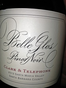 Belle Glos Pinot Noir 2013