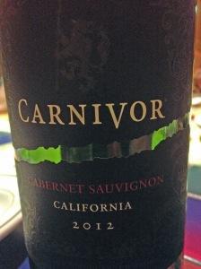 Carnivore Cabernet Sauvignon 2012