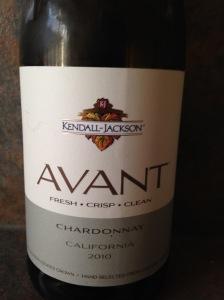 Kendall Jackson Avant Chardonnay 2010