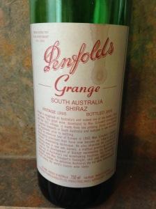 Penfolds Grange Shiraz 1995