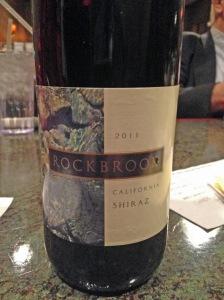 Rockbrook Shiraz 2011