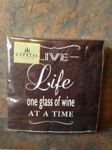 Wine Napkins