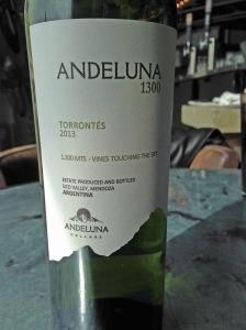 Andeluna 1300 Torrontes 2013