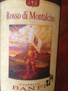 Castello Banfi Rosso di Montalcino 20110