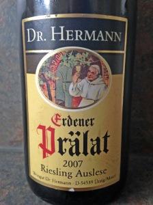 Dr Hermann Erdener Pralat Riesling Auslese 2007
