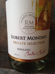 Robert Mondavi Central Coast Riesling 2012