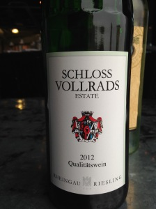Schloss Vollrads Riesling 2012